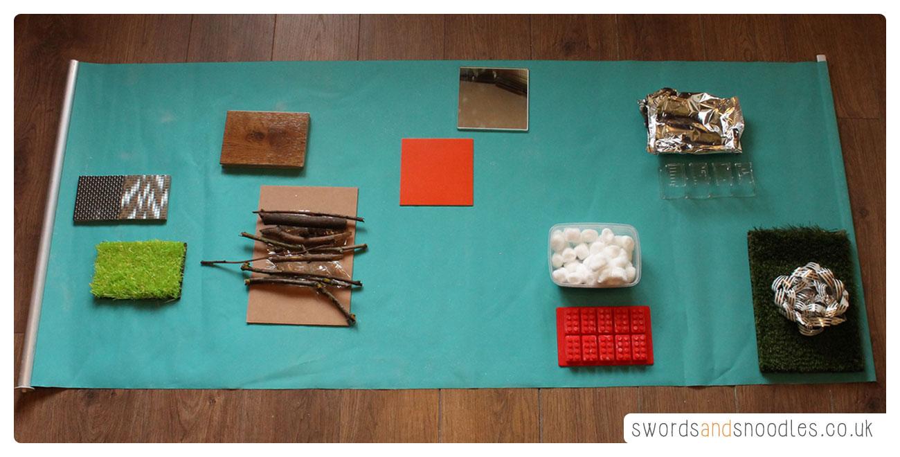 Sensory Stepping Stones activity for children