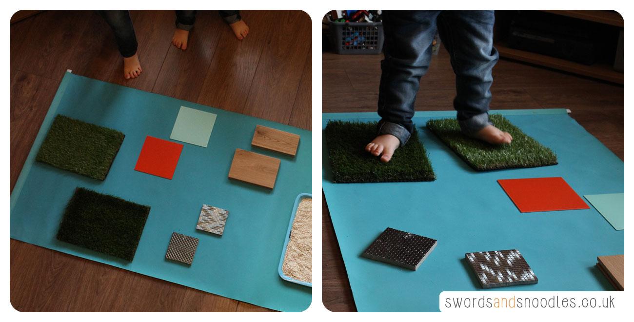 Sensory Stepping Stones Steps