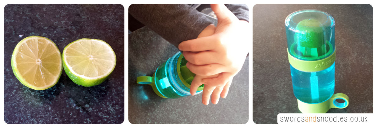 Kid Zinger in use