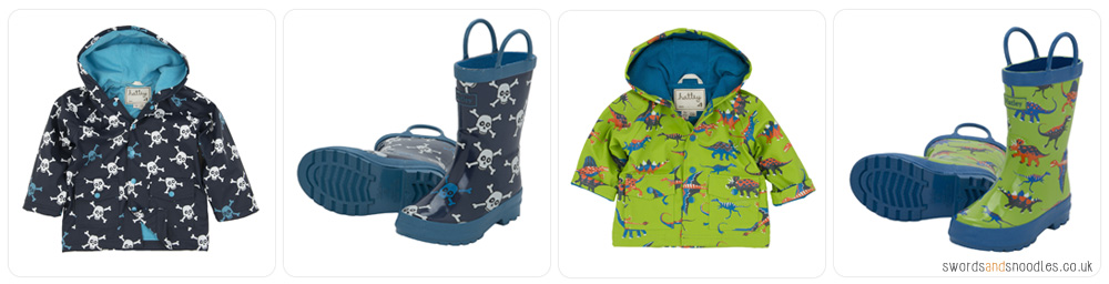 Hatley Raincoats and Wellies