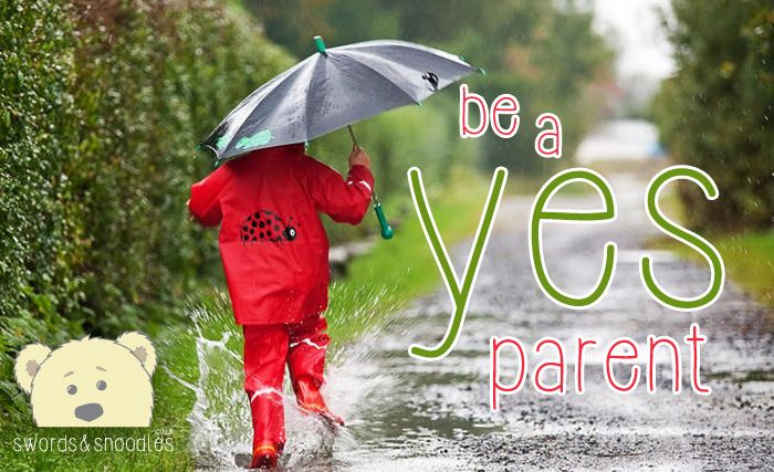 Be A Yes Parent by Becci Nicholls | Photo: © Miredi