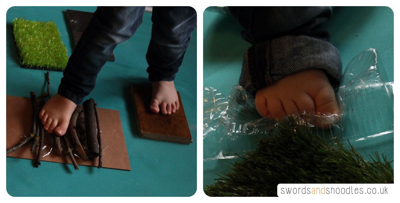 Children playing with Sensory Stepping Stones
