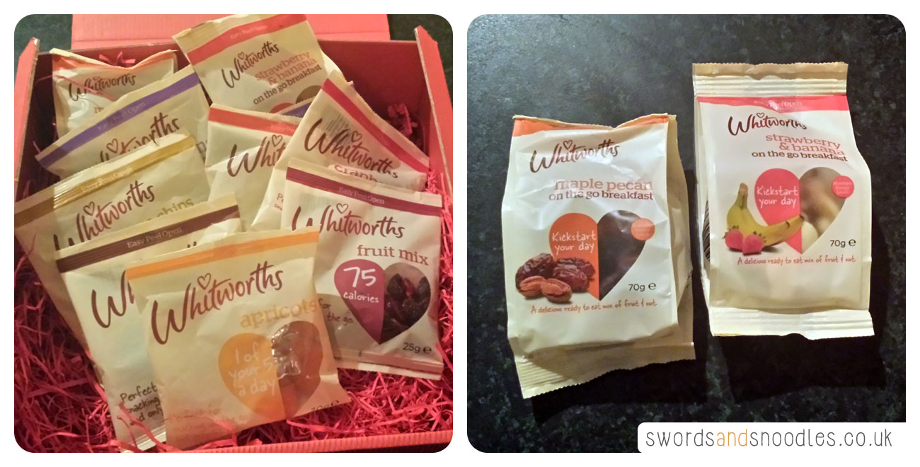 Whitworths blogger snack box