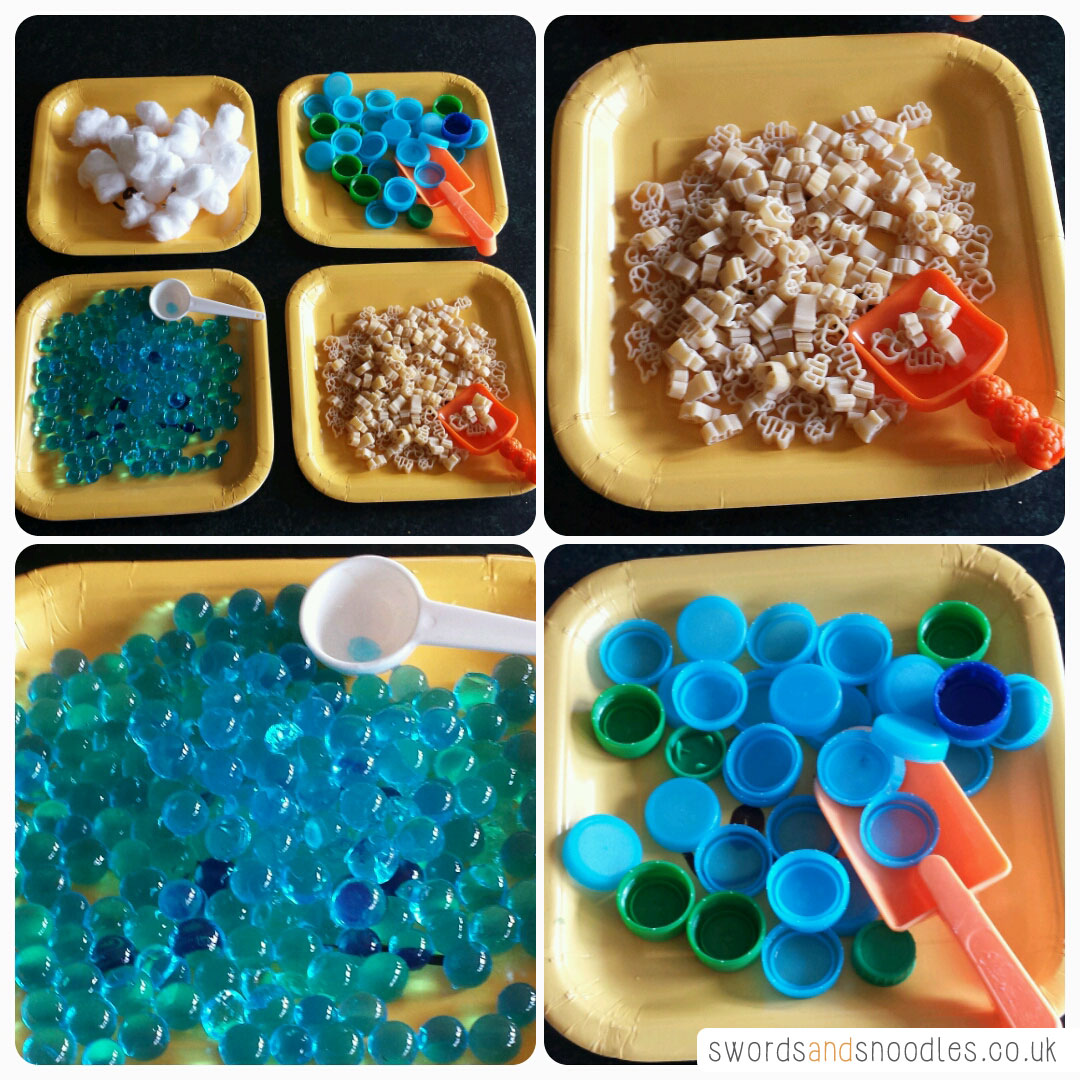 Transport sensory activity set up