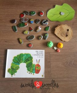 The Very Hungry Caterpillar Setup